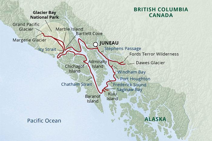 UnCruise Alaska (Alaska\'s Glacier Country Cruise   Roundtrip ...