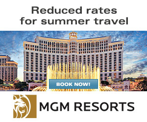 MGM Resorts - Up to $40 Food & Beverage Credit per day
