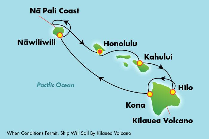 Cruises To Hawaii >> 7 Day Hawaii Ncl Cruise Norwegian Cruise Line Hawaii Inter