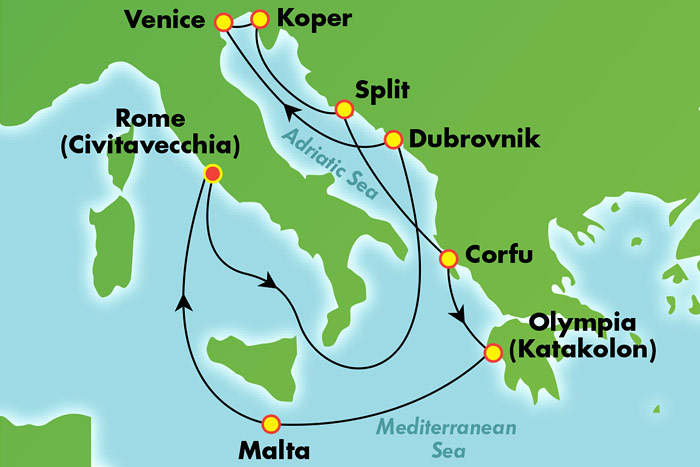 Norwegian Cruise Line Western Mediterranean From Barcelona